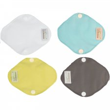 Reusable panty liners in bamboo - 4 pcs