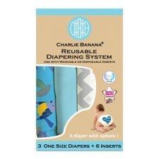 Charlie Banana Pocket OneSize 3pc