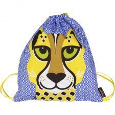 Rucksack Mibo Cheetah in organic cotton