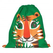 Rucksack Mibo Tiger in organic cotton