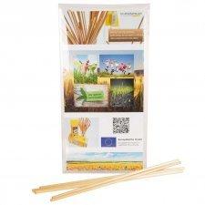 Rye straw organic