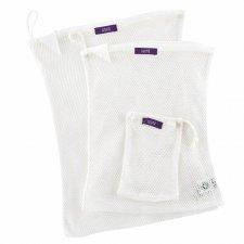 Sacche a rete per lavatrice in Cotone biologico 3 pezzi