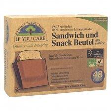 Sacchetti per Panini e Snack compostabili IF YOU CARE