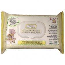 Salviette delicate per il cambio Biodegradabili 60 pz Baby Anthyllis