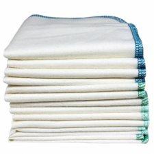 Salviette per l'igiene in cotone biologico - 12 pz