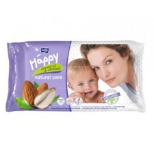 Salviette Mandorla Bio Happy BellaBaby - 56 pezzi