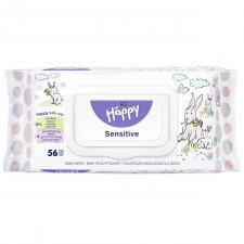 Salviette Sensitive Happy BellaBaby - 56 pezzi