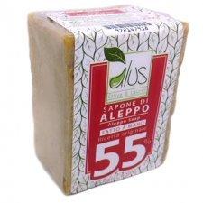 Sapone di Aleppo 55% olio di alloro