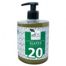 Sapone di Aleppo liquido 20% olio di Alloro