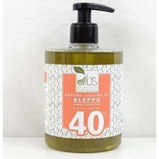 Sapone di Aleppo liquido 40% olio di Alloro