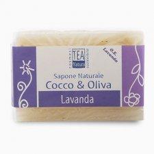 Sapone naturale all'olio di cocco e oliva con lavanda