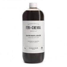 Sapone nero liquido - detersivo ecologico multiuso 1 litro