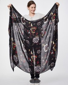 Sarong scarf Pavanne in bamboo