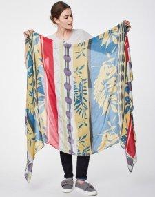 Sarong scarf Vita in bamboo