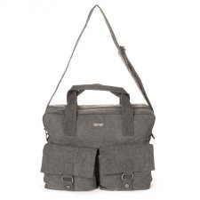 Sativa hemp large city messenger bag