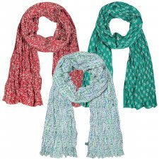 Scarf Edie in organic cotton cambric