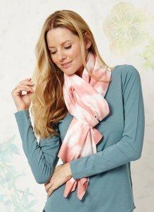 Ottavia tie dye bamboo scarf