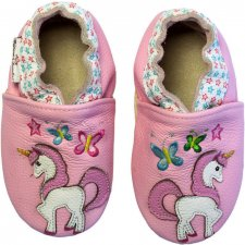 Scarpine Soft Sole Magic Unicorn Pink per bambine