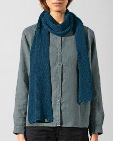 Sciarpa a maglia in Canapa e Cotone Biologico