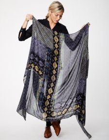 Sciarpa Sarong Antiquity in bamboo