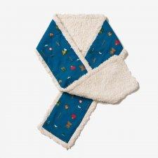 Sciarpa Sherpa Montagna per bambini in puro cotone biologico