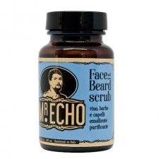 Scrub Viso, Barba e capelli emolliente purificante Mr.Echo