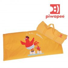 Sea mat waterproof yellow for babies Piwapee