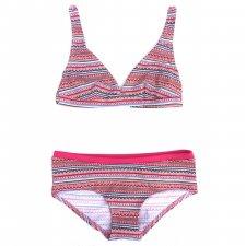 Set bra and brief in organic cotton Lavender Streets
