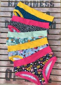 Bikini Colorio SLIP WITHOUT ELASTICS in organic cotton
