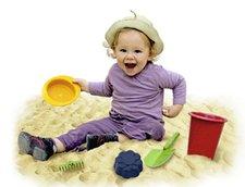 Set giochi da spiaggia in bioplastica
