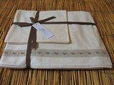 Lenzuola letto Matrimoniale in cotone bio, set 4 pezzi