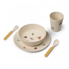 Set pappa in bamboo Butterfly
