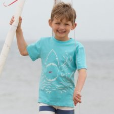 Shark snack t-shirt in organic cotton