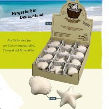 Sheep milk soap Shell/Starfish