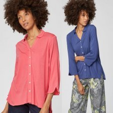 Shirt Madie in bamboo and organic cotton