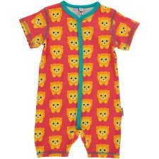 Rompersuit Lions in organic cotton