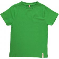 Short sleeve shirt Green in organic cotton