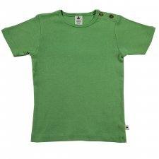 Short sleeve shirt in organic cotton Wood Green