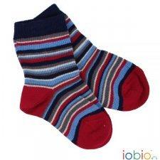 Short socks Popolini multicolors in organic cotton