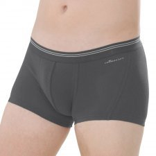 Shorts man Anthracite in fair trade organic cotton