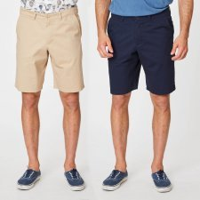 Anson chino shorts in organic cotton