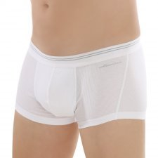 Shorts man White in fair trade organic cotton