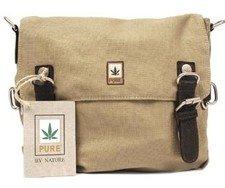Shoulder bag in hemp