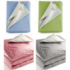 Single bed duvet cover Mymami in Organic cotton bi-coloured