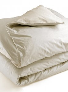Single bed duvet cover parure Mymami in Organic Raw Natural cotton