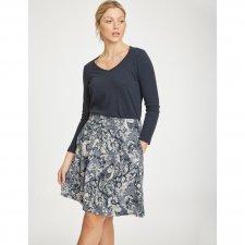 Skirt Lisbet in hemp and rayon