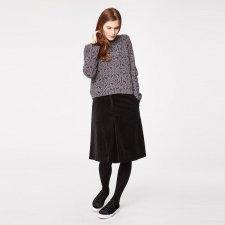 Beatrice velvet skirt in organic cotton