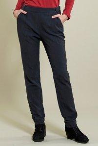 Slim leg trousers in fair trade cotton