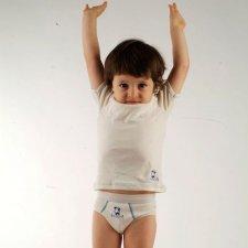 Slip bambino in cotone biologico equosolidale 2 pz