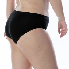 Slip in Modal e Cotone vita alta senza elastici
